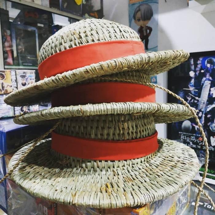 Jual Topi Jerami Monkey D Luffy One Piece Hat Cosplay Anime Kota Yogyakarta Extalia Hobbies Tokopedia