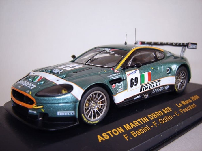 Jual Diecast 1 43 Aston Martin Dbr9 Aston Martin Db9 Le Mans Jakarta Barat Jova Store Tokopedia