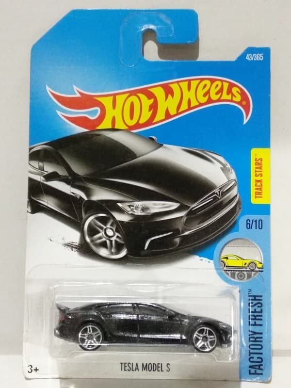 Jual Hot Wheels Hotwheels Tesla Model S Black Kota Batam Garasi Mami Kevin Tokopedia