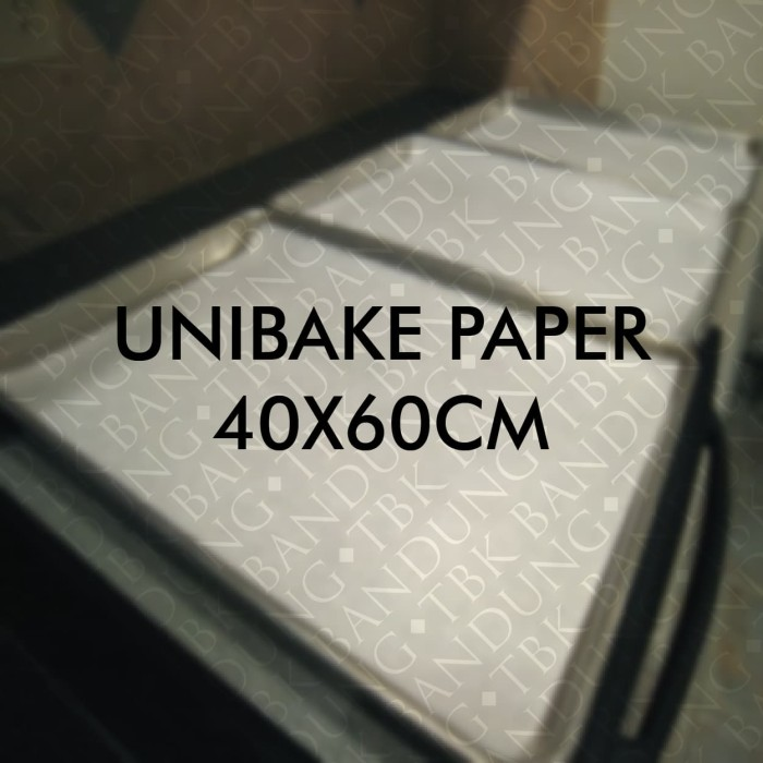 Foto Produk Baking Paper Unibake 40X60CM Kertas Panggang dari TBK Bandung