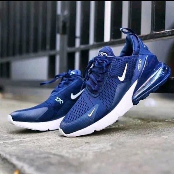 Jual Sepatu Nike Air Max 270 Navy Blue Jakarta Utara MAFIA SNEAKERS   Tokopedia