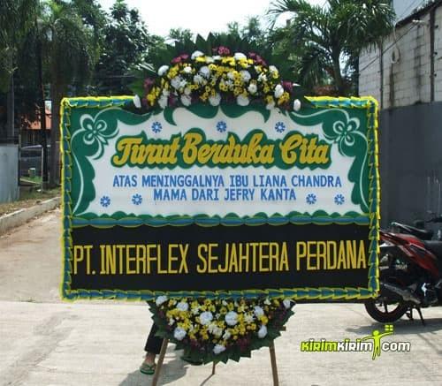 Jual Karangan Bunga Papan Ucapan Duka Cita 120x200 Jakarta Free Ongkir Jakarta Utara Kirimkirim Florist Tokopedia