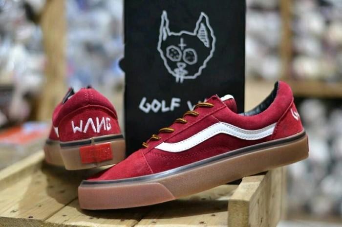 b69260c4bb Jual Promo Best Seller Sepatu Vans Golfwang Skate Sneakers Casual ...