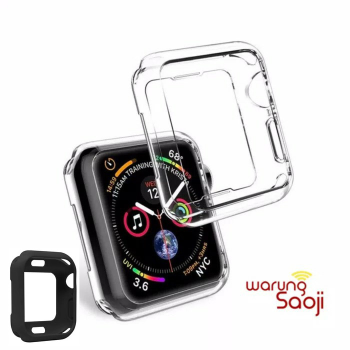 Foto Produk Apple Watch Case series 4 40 44 mm 40mm 44mm silicone tpu dari CUHILEMIC ACC HP