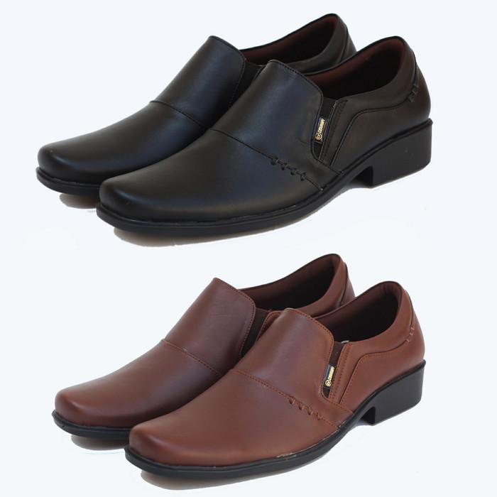 harga Sepatu pantofel kulit formal kantor dinas pdh gats karet pria a10 Tokopedia.com