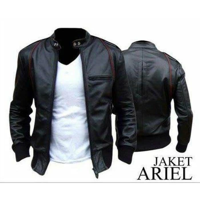 90 Koleksi Jaket Kulit Model Ariel Terbaru