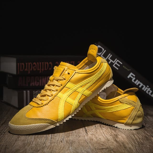 quality design d2c76 18a8e Jual Asics Onitsuka Tiger Mexico 66 Deluxe Yellow Japan Leather - Kab.  Bandung - Sri NJ || Golden Shoes | Tokopedia