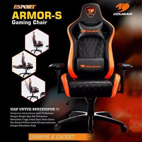 Jual Administrasi S Pusat Cougar Megallo Gaming Armor Chair Kota Jakarta ShopTokopedia TFclK1J3
