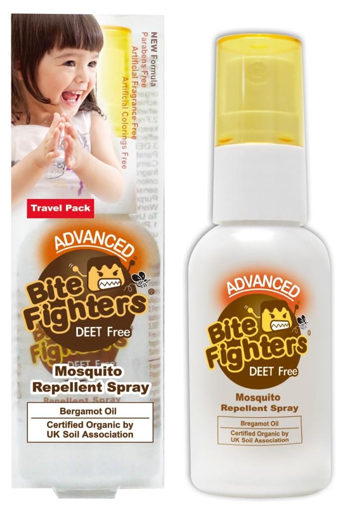 harga Bite fighters certified organic mosquito repellent spray 25ml Tokopedia.com