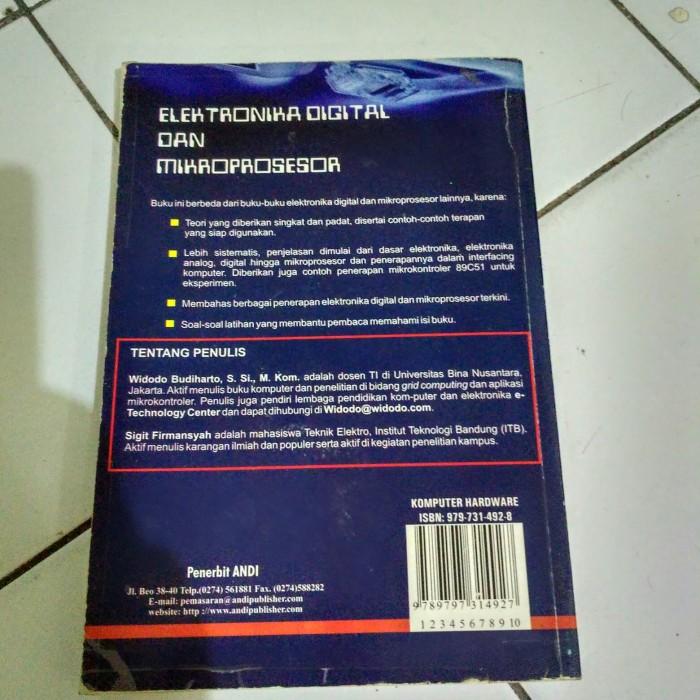 Elektronika Digital dan Mikroprosesor - Buku Murah