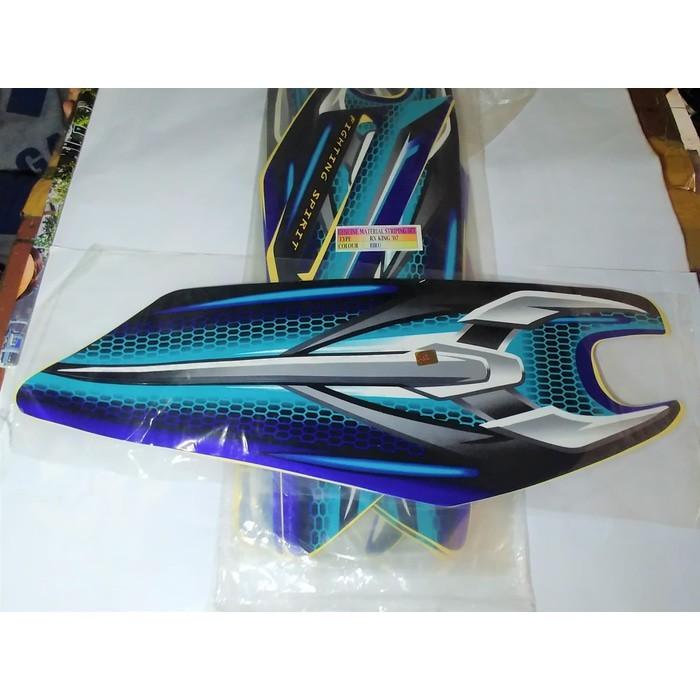 Stiker Bodi Motor | Stiker Bodi & Lis Body & Striping Rxking New 2007