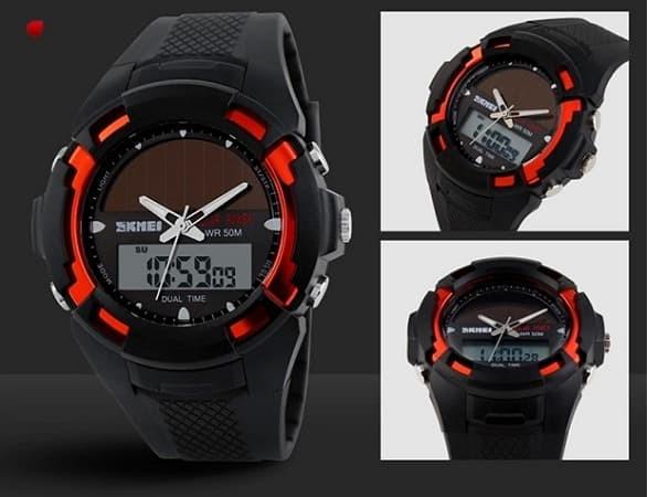 SKMEI Bizzare 1056 Hitam Merah Original Jam Tangan Import Tahan Air - Merah 57a39fdb16