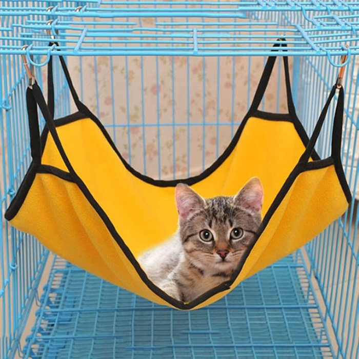 Waterproof Pet Dog Seat Hammock Hanging Cage Beds Sleeping Beds For Rabbit Cat