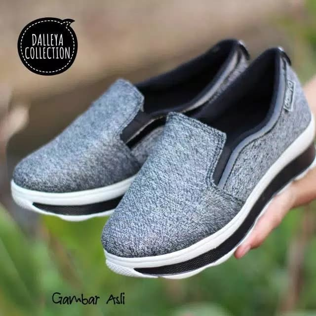 Lilyshoes JUNGLE- Realpict sepatu sneaker casual wanita trendy - ,