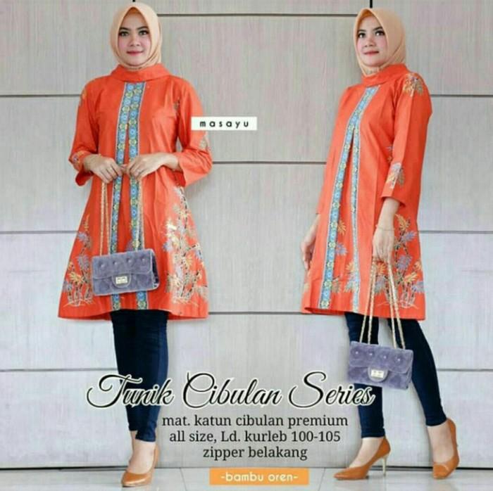 Jual Dress Batik Kerja Kantor Atasan Wanita Modern Terbaru Baju Batik Blus Fuchsia L Kab Pekalongan Rumah Batik20 Tokopedia