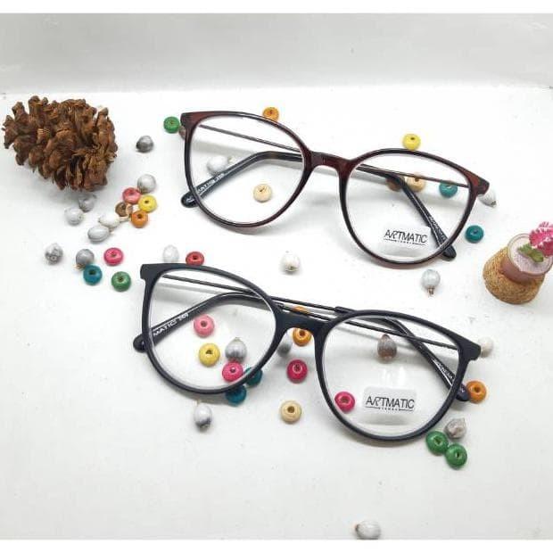 Kacamata Minus 350 Kacamata Baca Oval Hitam Gaya Trendy Bc335 ... 436760e997