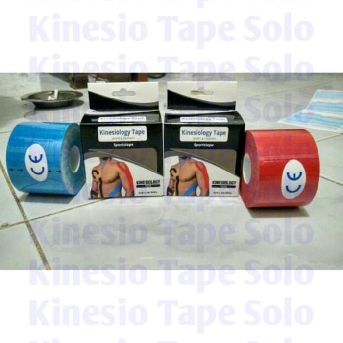 Big Sale Kinesio Tape / Tapping Kinesiology Tape 5cm x 5m TERMURAH