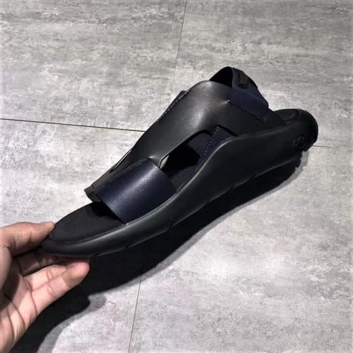 b2fa3a721 Jual ss ADIDAS Sandal Y3 Qasa Elle Yohji Yamamoto Black Blue Premium ...