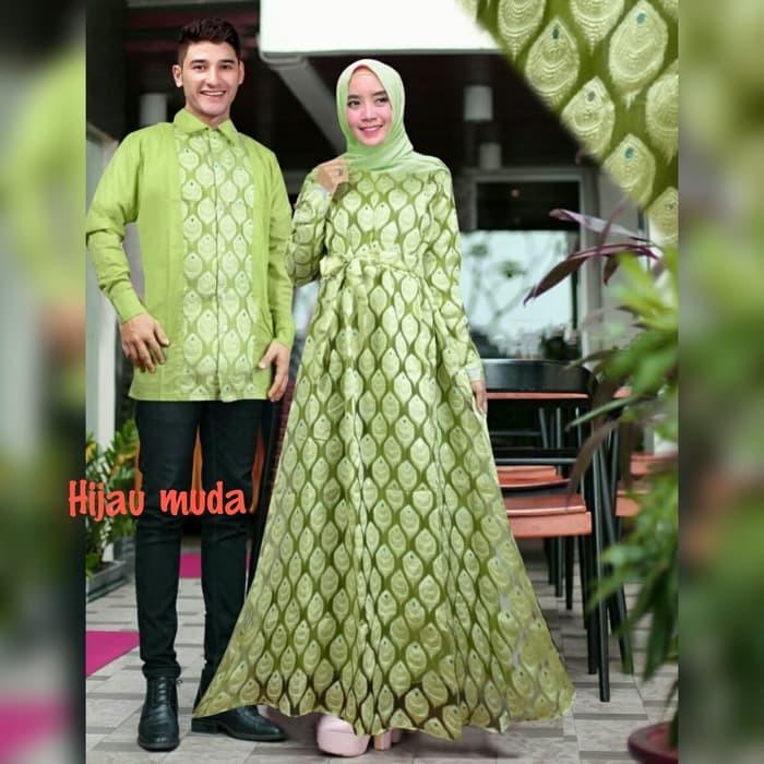 Jual Baju Muslim Pasangan Couple Xl Sahibah Marun Baju Pesta Mewah Murah Tm Kota Semarang Rahimr Omdhon Tokopedia