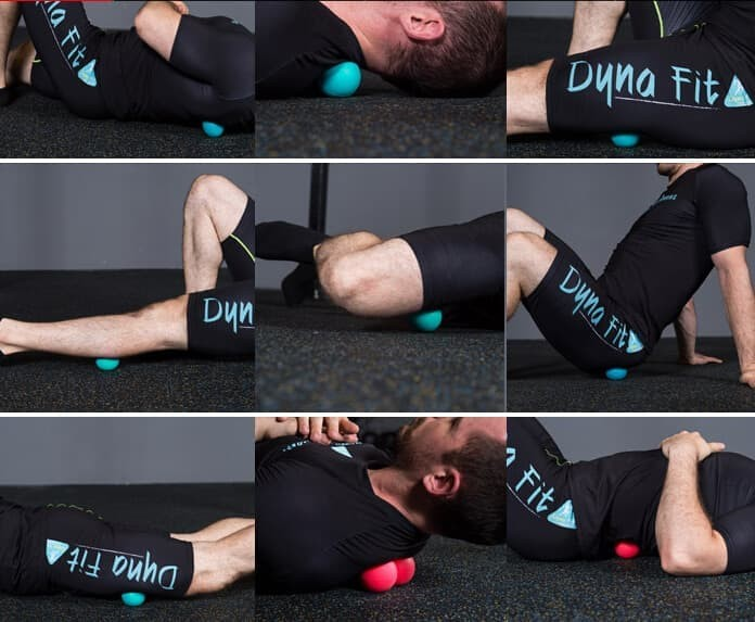 Foto Produk Kuubee Lacrosse/Massage Ball/Bola Massage/Relax/Pijat/Terapi/4,5cm - 45MM dari Toko-Ben