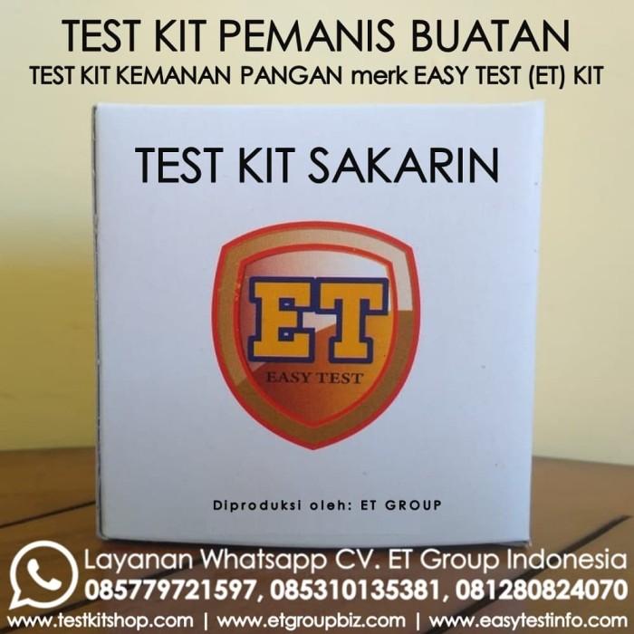 Foto Produk Test Kit Sakarin - Saccharine Testkit - Tes Uji Cepat Pemanis Buatan dari Sooper Shop