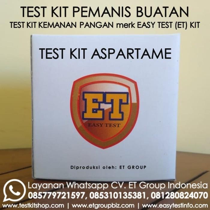 Foto Produk Test Kit Aspartam - Aspartame Teskit - Tes Uji Cepat Pemanis Buatan dari Sooper Shop