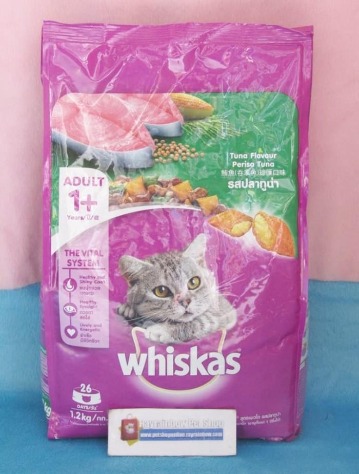 Whiskas Tuna 1.2kg - Cat Food/Makanan Kucing