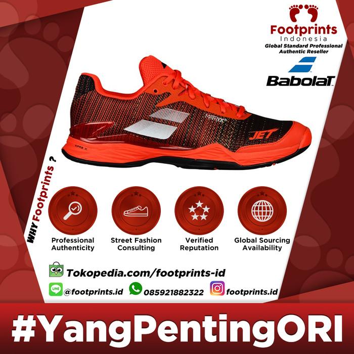 harga Sepatu tenis babolat jet mach ii orange black red original tennis shoe Tokopedia.com