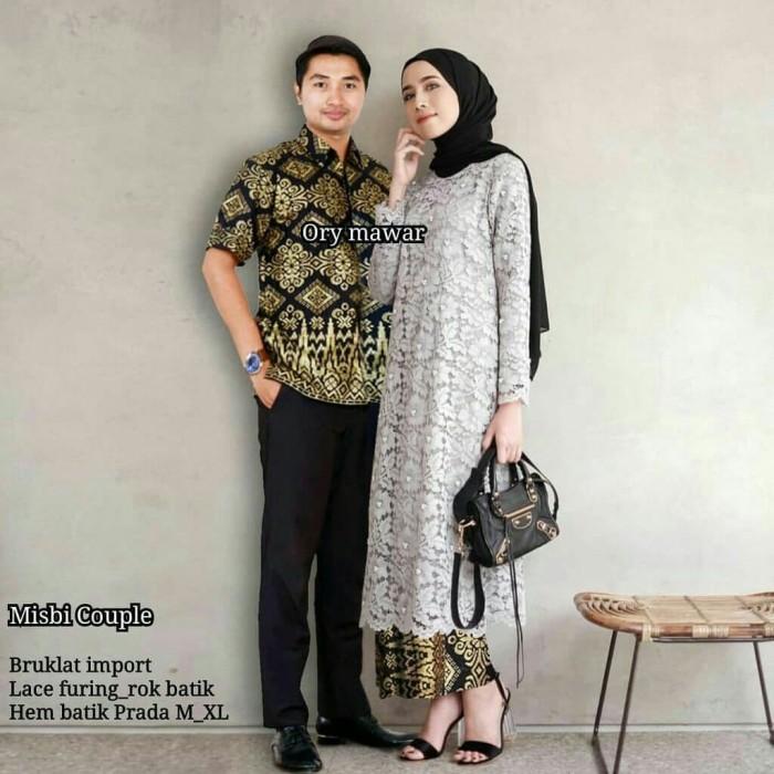 Baju Couple Muslim Batik Sarimbit 1