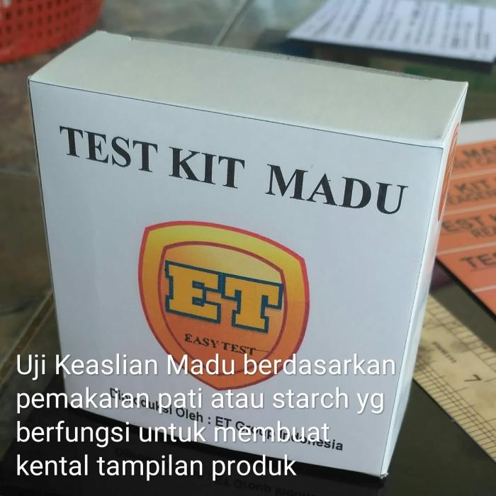 Foto Produk Test Kit Madu - Testkit Uji Keaslian Produk - Teskit ET utk Tes Madu dari easytest