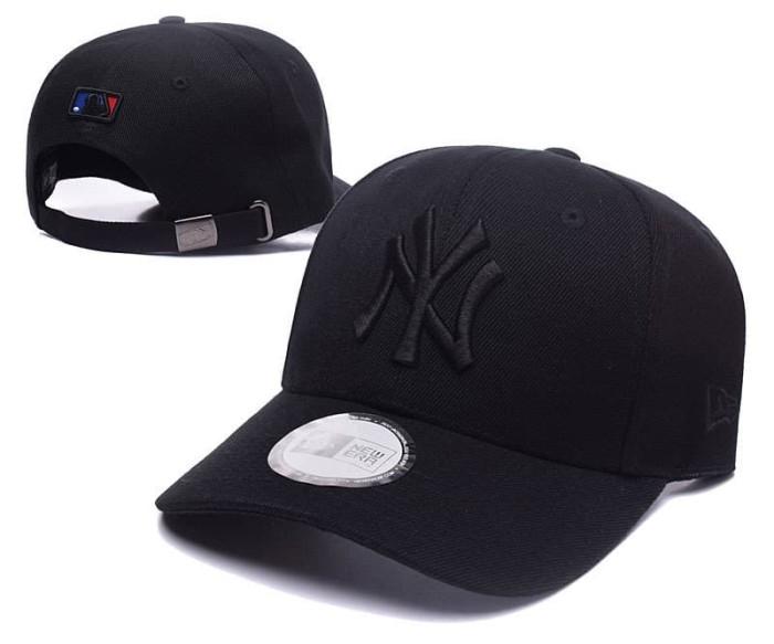 Jual Topi caps NY New york yankees full black import - Putih - Topi ... 7a00dc30a5