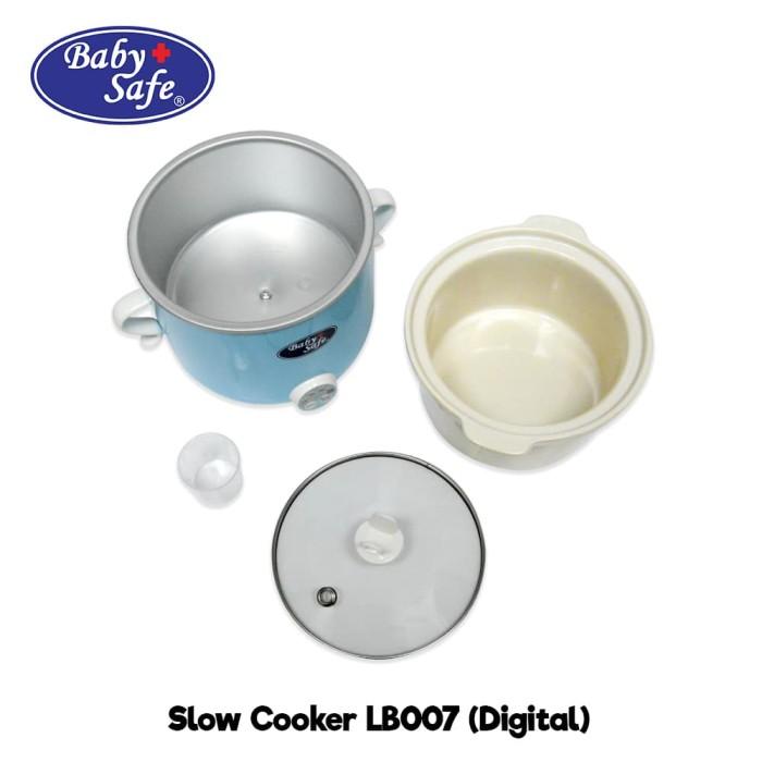 BABY SAFE Slow Cooker Digital LB007 Alat Masak MPASI Bayi
