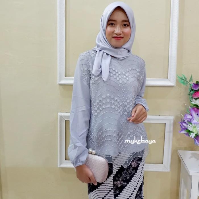Jual Kebaya Wisuda Hijab Modern Kebaya Jazia Kimora Kota Surakarta Solokebaya Net Tokopedia