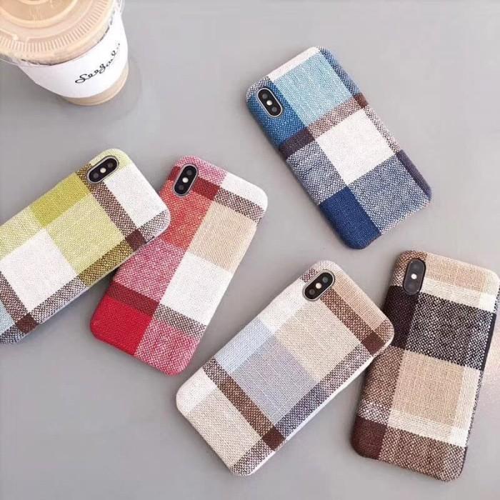 Foto Produk Comfort Cloth Soft Case Casing Kain iPhone 6 6S 7 8 X Plus - Light blue, 6 atau 6S dari iShop Here