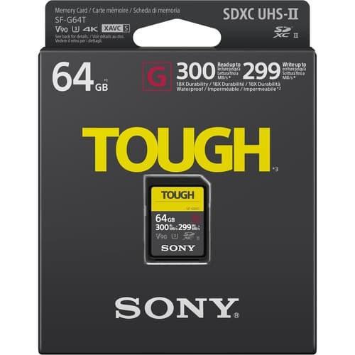 harga Sony 64gb sf-g tough series uhs-ii sdxc memory card Tokopedia.com
