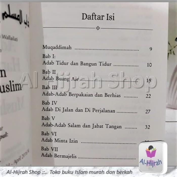 Jual BUKU SAKU – ADAB HARIAN MUSLIM - Kab  Bekasi - Berani