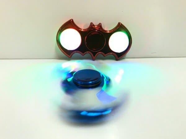Fidget Spinner BATMAN LED CHROME Spinner Batman Chrome