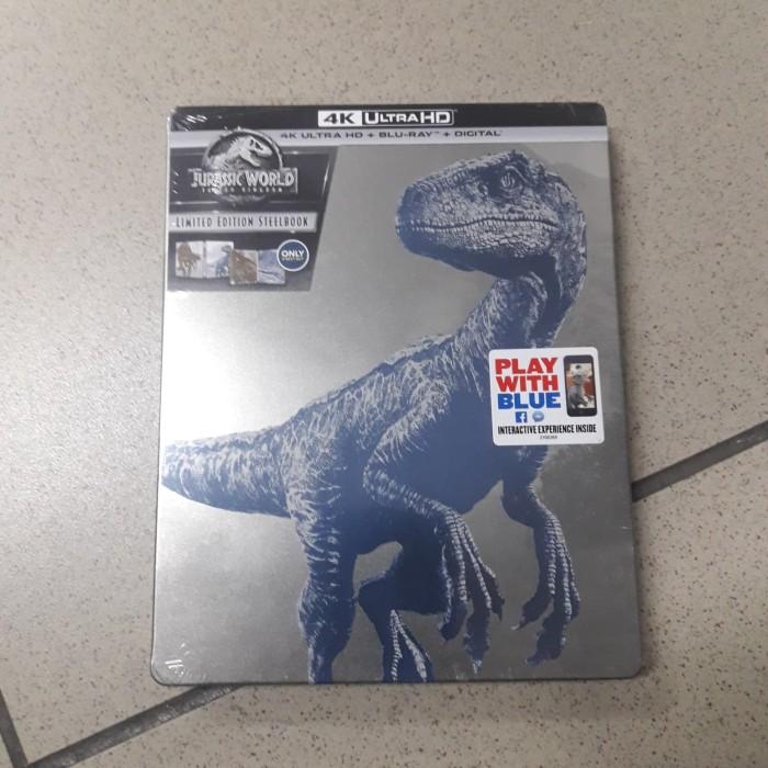 harga Blu ray original jurassic world fallen kingdom 4k ultra hd steelbook Tokopedia.com