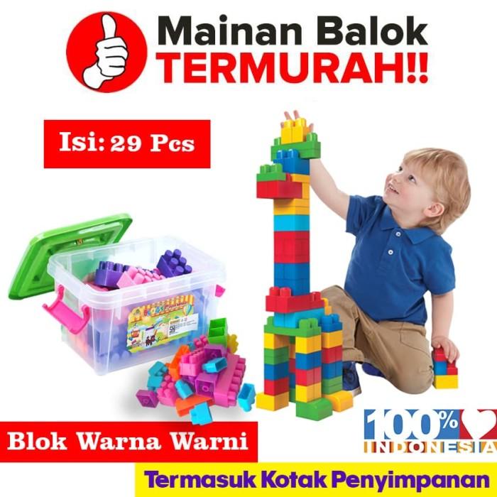 Foto Produk OceanToy Block Creative Container Mainan Edukasi Anak (OCT9217) dari Ocean Toy Indo