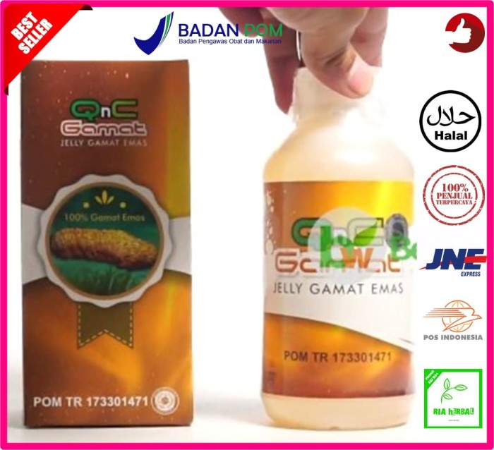 Foto Produk Obat Anus Gatal/Obat Anus Bengkak/Obat Anus Berdarah - QnC Jelly dari Toko Ria Herbal