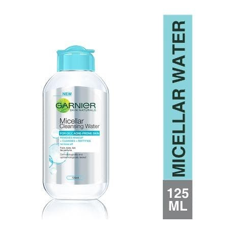 Garnier micellar cleansing water - 125 ml - blue