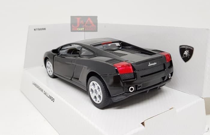 Jual Lamborghini Gallardo Hitam Skala 1 36 Kinsmart Diecast