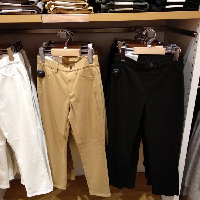 Jual Celana Legging Crop Perempuan Uniqlo Kab Sidoarjo Jh07 Shop Tokopedia