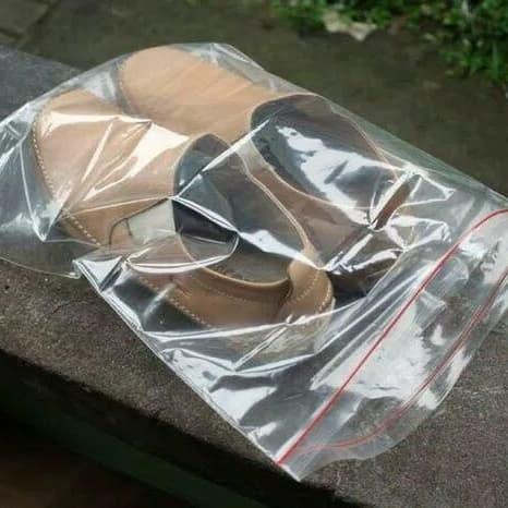 Foto Produk plastik ziplock jumbo 1 pack isi 25 pcs untuk sepatu, tas, dll dari silicagelstuff