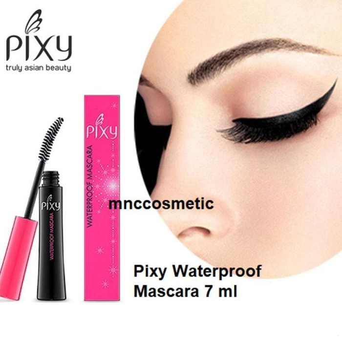 sedia Pixy Waterproof Mascara 7 ml - Black