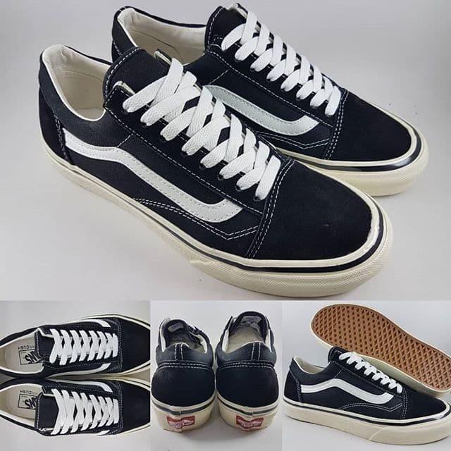 Jual Sepatu Kets Vans Old Skool Style 36 DX Anaheim Factory Black ... b657c78ed7