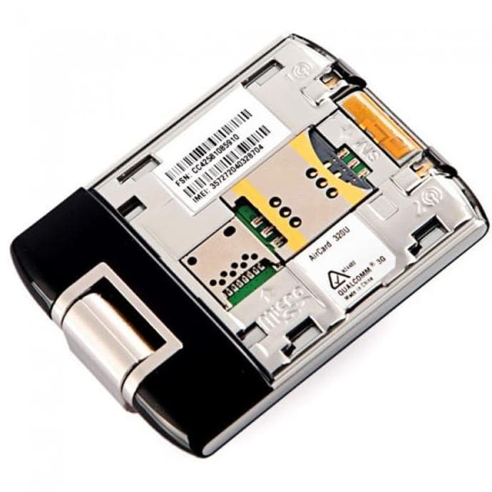 Unlocked Sierra AirCard 320U 4G LTE 100Mbps Wireless USB Modem Dongle 2 Antenna