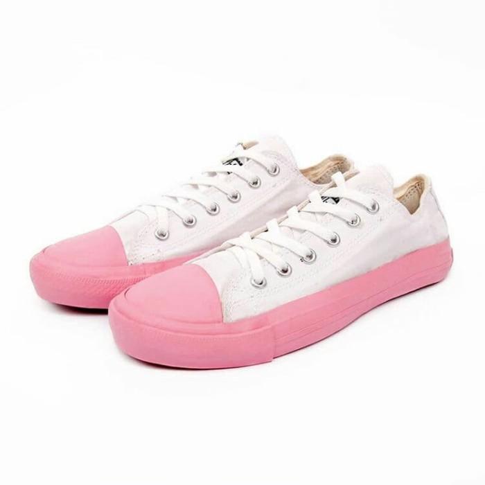 Jual SALE Sepatu Converse White Combi Pink Hemat Terlaris - Mentari ... 25400e6820