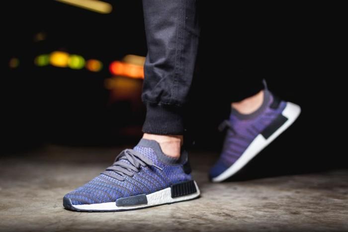 6c4363186 Jual Sepatu Sneakers Adidas NMD R1 STLT PK Blue Original BNIB Murah ...