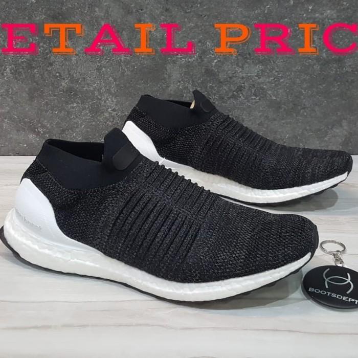 21d59da8f4ce6 Jual Adidas Ultra Boost Laceless - Black White - Kab. Tangerang ...